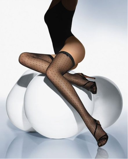 Ножки женские фото в чулках